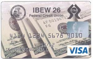 IBEW 26 FCU Check Card