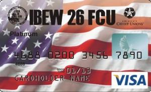 IBEW 26 FCU Platinum Visa